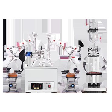 Large Laboratory Essential Hemp Oil Extraction Fractional Short Path Essential Oil Distillation Equipment
